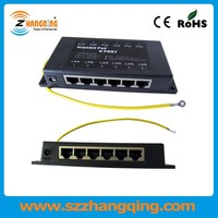 6port passive poe power over ethernet injector Module for IP Camera