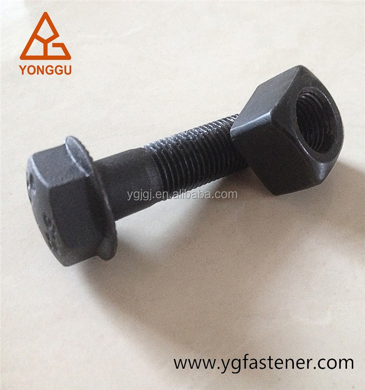 high quality Track shoe bolt and nut 12.9 grade for Crawler Bulldozer/excavator