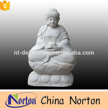High quality life size carving outdoor large stone buddha NTMS-R435A