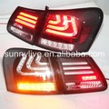 For Lexus for GS300 GS350 GS430 GS450 2006-2011 year Taillights Clear cover and black housing