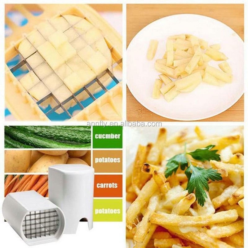 Fries One Step French Fry Potato Cutter Chips Slicers kitchen gadgets cozinha cooking tools Potato Mashers & Ricers