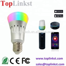 5W Smart wifi LED Light Bulb Compatible with Alexa and Google Home Cellphone Control Dimmable and Multicolor