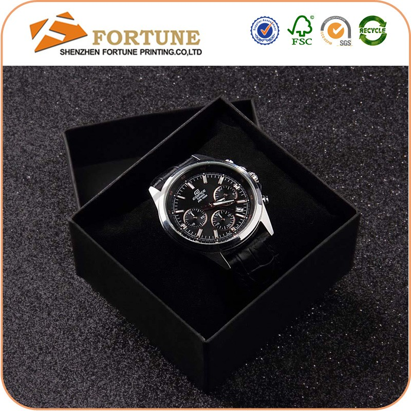 2016 Fashion Design Recycled Fancy Paper Gift Wrap Box For Watch