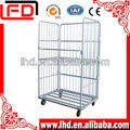 electronic galvanized roll cage trolley