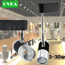 COB LED Track Light Spot 5w 7w 10w 12w 20w 30w clothing store spotlights Commercial Lighting