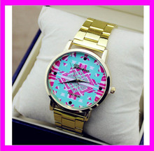 JC3337 2014 Popular gift alloy geneva lady watch