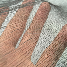5.5MM TRANSPARENT YORYU SILK FABRIC IN HIGH CRINKLE EFFECT FROM NO.1 WUJIANG SILK
