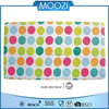 Dots Pattern Applique Cloth Sticking Anti Slip Rubber Mat