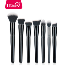 MSQ 7pcs makeup brush set professional Private Label Makeup Brush cosmetic makeup brush