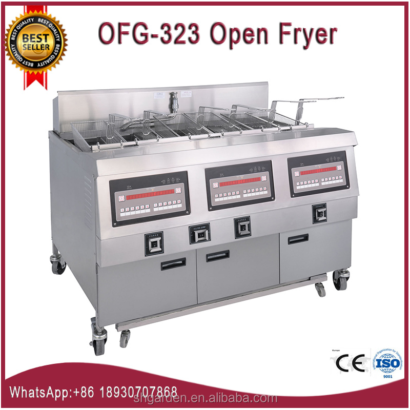 OFG-323 big CE ISO churro machine and fryer/potato chips fryer machine/fresh potato chips machine