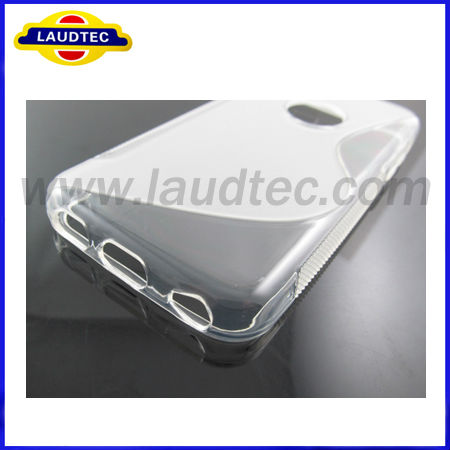 New Hot Selling S Line TPU Gel Clear Case For iphone 5c