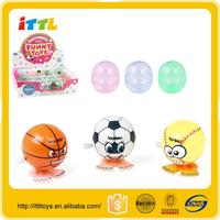 mini toy WIND UP JUMPING BALL animal toys top sale