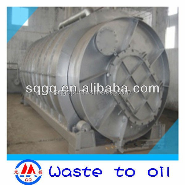 tire recycling machine,plastic recycling pyrolysis plant waste oil to diesel