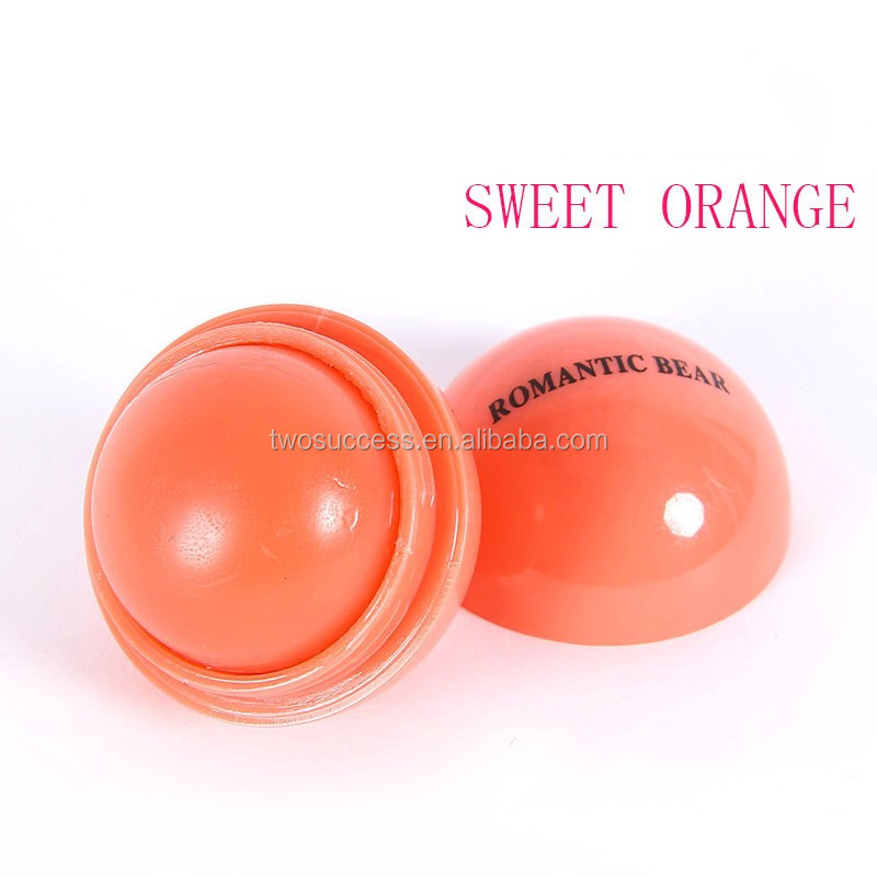 2017 hot sale Round lip ball lip gloss with factory price make your own lipstick