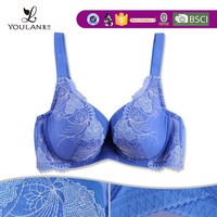 stylish high quality push up big cup bra size cup