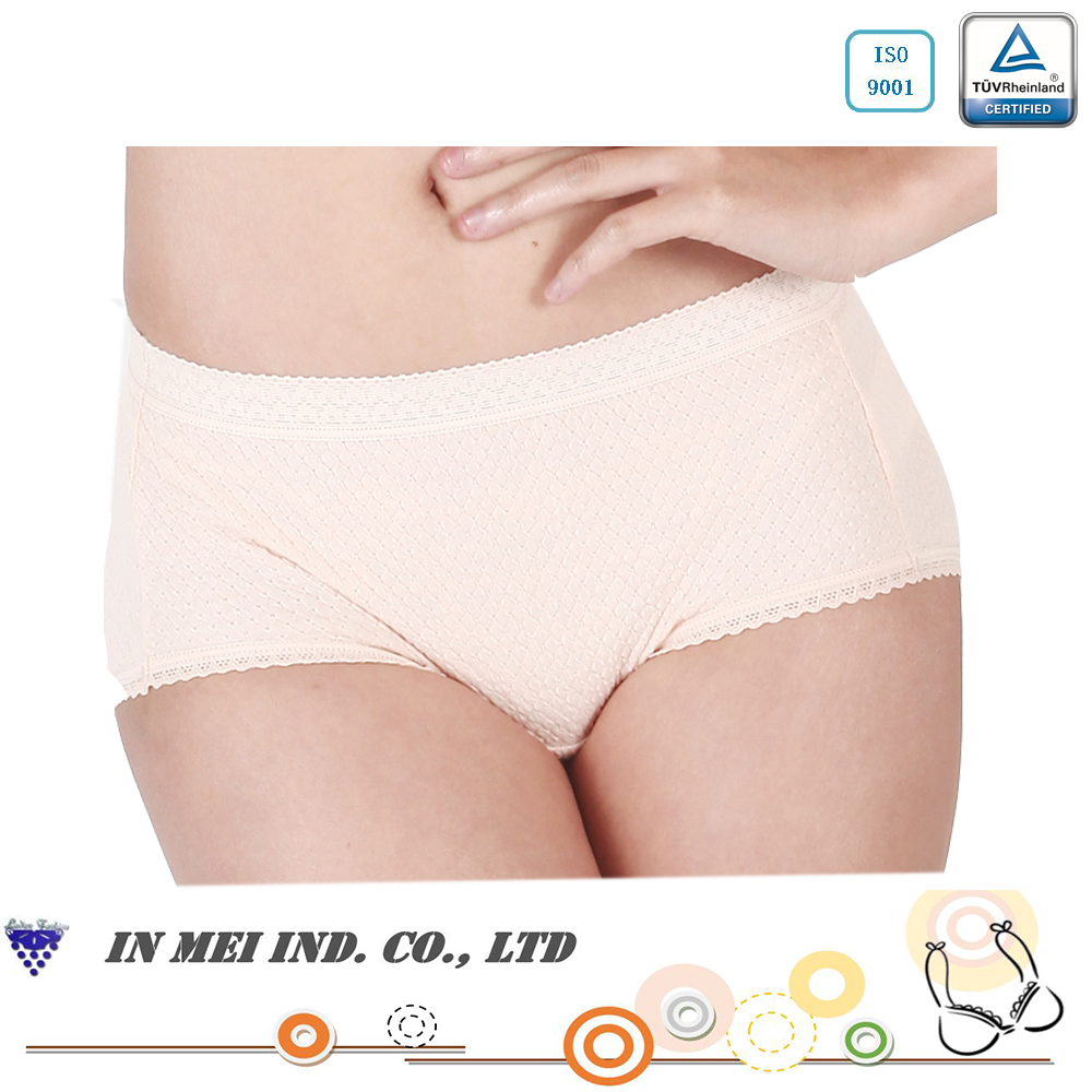 Hot Sale Made in Taiwan Cotton Women Sleep Comfort Panty