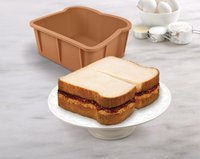 Cakewich Cake Pop Mold Sliced Bread Shape FDA LFGB Food Grade SIlicone Baking Pan