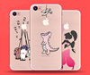 2017 new promotional design creative TPU Mobile Phone Cases for Iphone