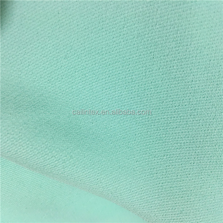 Hot Sell Polyester Twill Moss Crepe Fabric for Pants and Garments