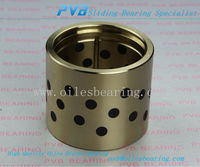 Guide Bearing Sleeve Bushing,HPB-405040 Solid Sliding Bearing,Copper Oiles Bearing