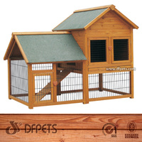 Firm and Strong Wooden Rabbit House DFR051