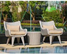 New design PE patio sectional furniture Garden patio resin wicker rattan outdoor furniture