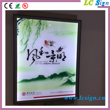 China supplier super slim A0,A1,A2,A3,A4 aluminum acrylic led photo picture frame new models