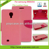 wallet leather phone case for Samsung galaxy s4 i9500