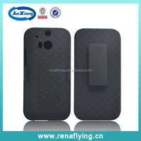 hot new products for 2015 shell holster case for htc one m8 on Alibaba