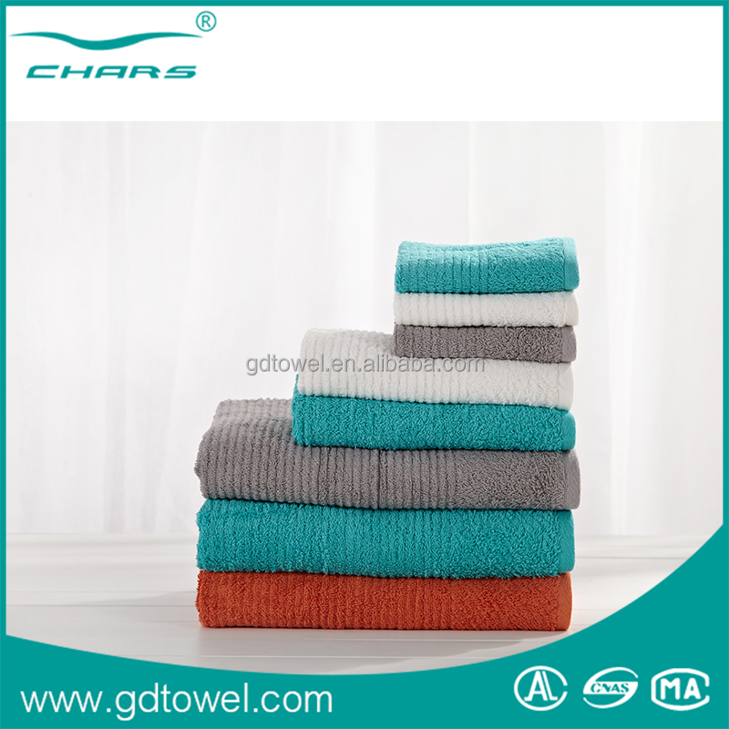 Luxury Home style Soft Bathroom Cleaning Cotton Bath Towel set