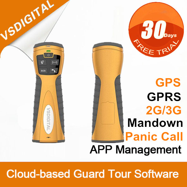 GPRS GPS Security Monitor Guard Patrol System