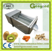 Popular Brush Roller Washing Peeling Machine for Potato/Sweet Potato/Carrot/Taro/Kiwi Fruit