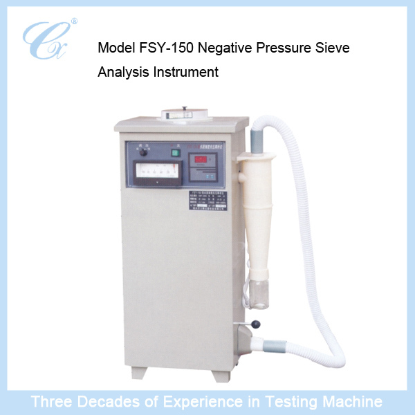 Model FSY-150 Negative Pressure Sieve Analysis Instrument