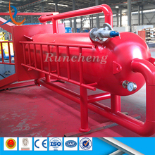 Well drilling safety mud free gas separator / high pressure filter separator / well fluid separator