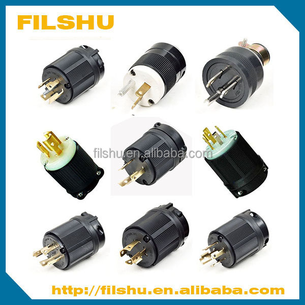 FILSHU 2015 Hot selling 15A 125V American power plug NEMA L5-15P