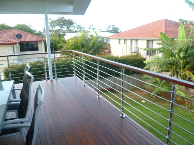 Banisters and handrails outdoor modern deck railing