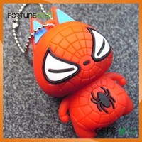 Hot Selling Custom Spider USB Memory Flash Pen Driver 2gb 4gb 8gb 16gb 32gb Cartoon Character Usb Flash Drive 8GB Promotion Giv