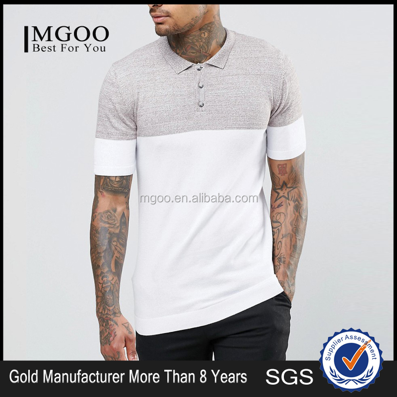 MGOO High Quality 2016 Custom Made Embroidery Business Golf Polo Shirts 100 Cotton Pique Custom Logos