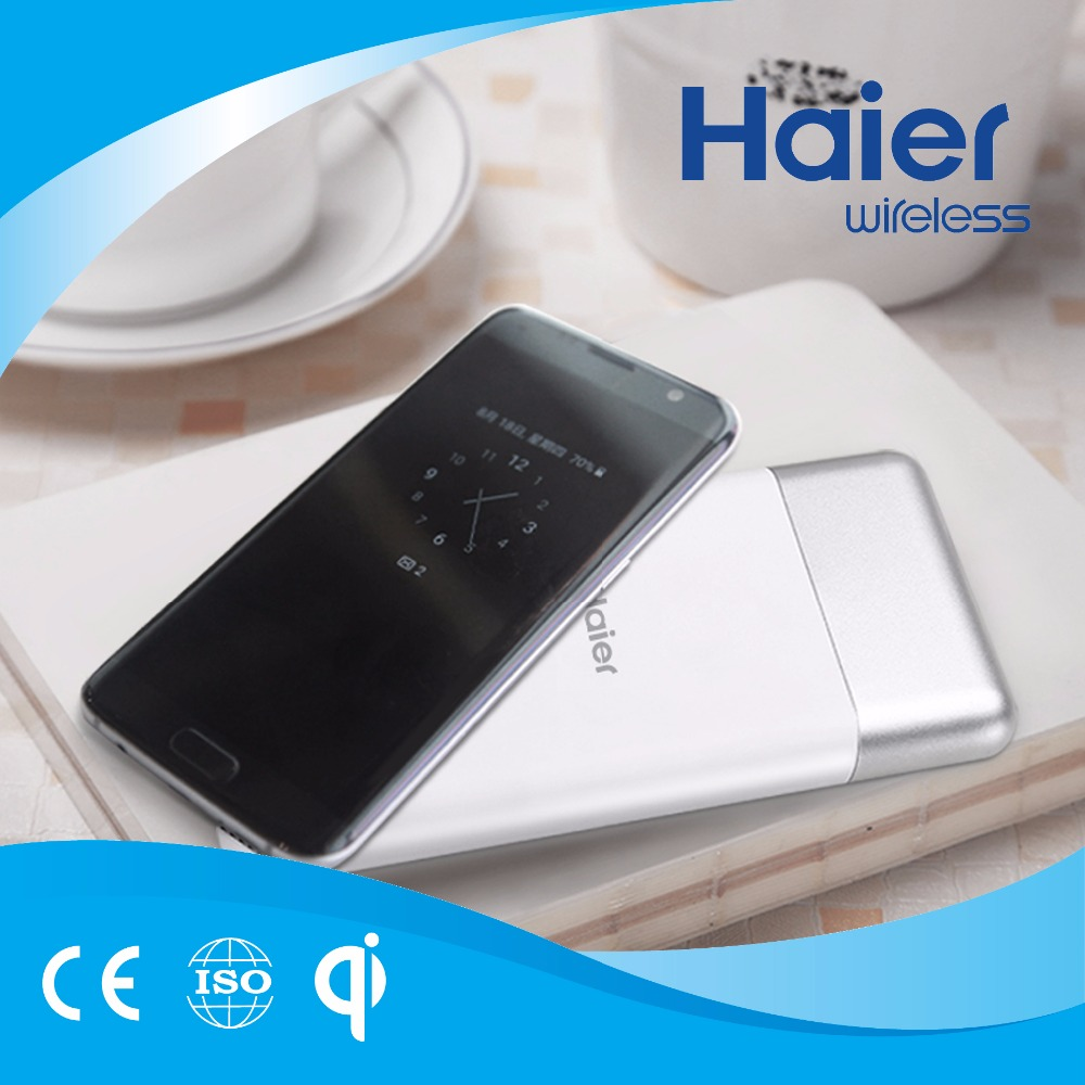 Haier 10000mAh Wireless Charging External Battery for Smart Phone