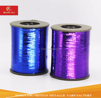 Dyed color M-TYPE METALLIC YARN from Factory manufacture