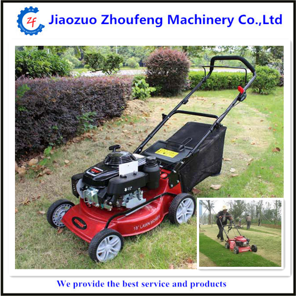 Low noise self propelled 163cc garden tools robot lawn for Gardening tools jakarta