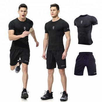 sports fitness quick drying suit sport wear for men