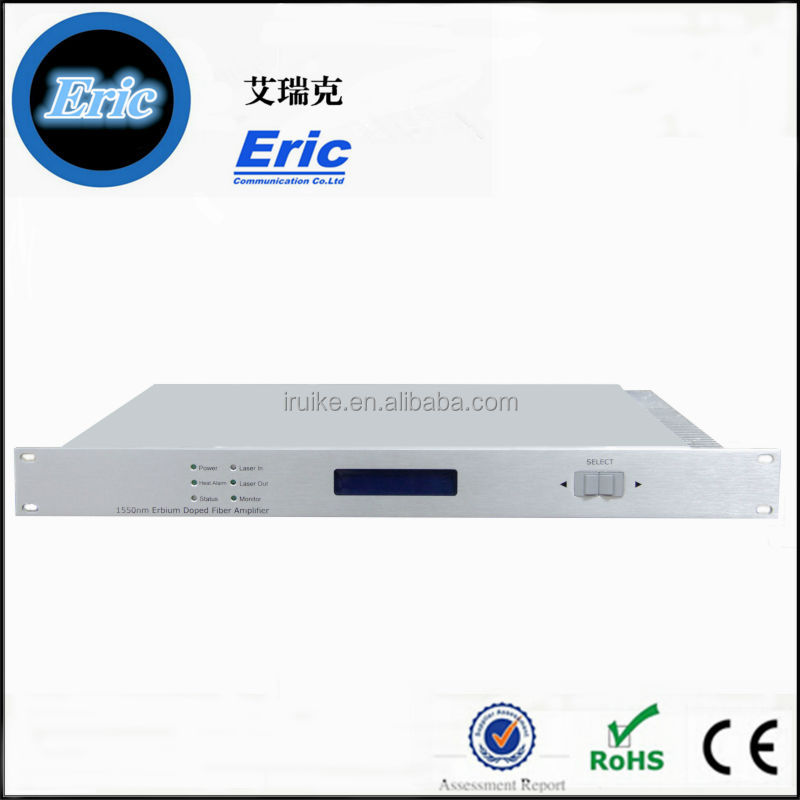 Eric 1550nm CATV Optic Signal Amplifier (EDFA) | FTTH Fiber Optical Audio/Video Amplifier