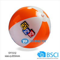 14inch 16P inflatable beach ball water ball