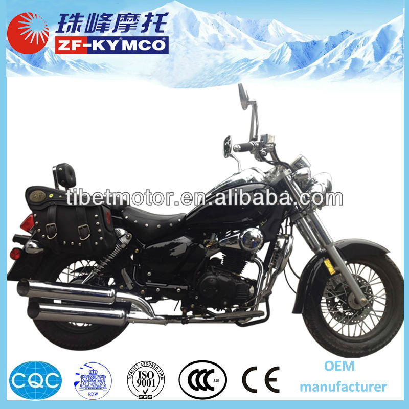 Best selling air cooled chopper 125 cc for sale(ZF250-6A)