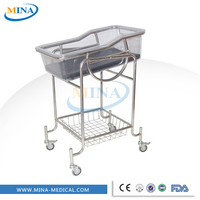 MINA-BB03 hot sale adjustable hospital infant bassinet