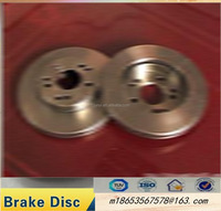 Hot sell car accessories,drilled and dacromet , solid brake disc