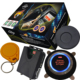 rfid car invisible anti theft security kit with auto ignition start stop button works with car alarm