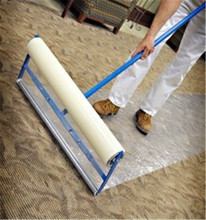 PE Plastic Blue Film Hot for Carpet Protection