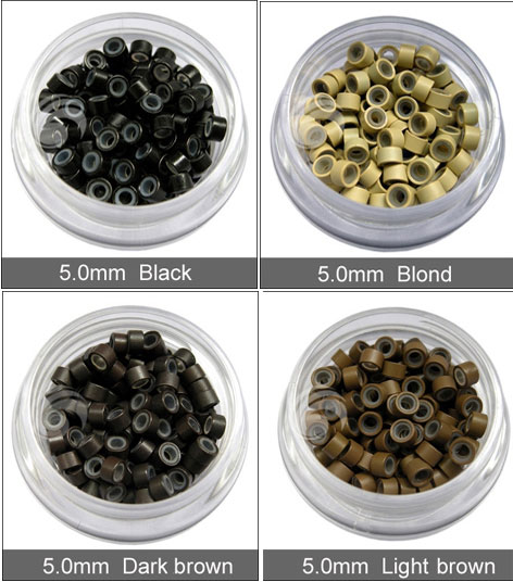 wholesale price micro bead hair extensions micro ring
